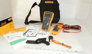 Fluke Combo Kit 116 323 Very Clean Digital Multimeter And Clamp Meter