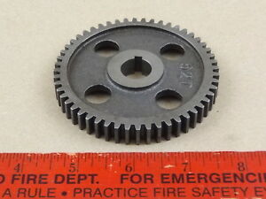 Excellent Original Logan 9 10 Lathe 52 Tooth Threading Change Gear 5 8 Bore
