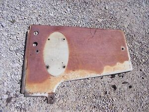 Farmall 560 460 Rc Tractor Orgnal Ihc Ih Front Right Radiator Side Hood Cv Panel