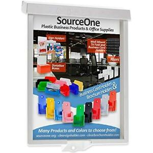 Source One 6 pack Brochure flyer Holder Outdoor Realtor Style Info Box