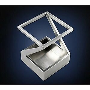 Modern Art Pen And Pencil Holder St203 Stainless Steel Satin Finish Patented Cup