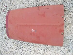 Farmall F14 Tractor Ih Original Hood For Over The Engine