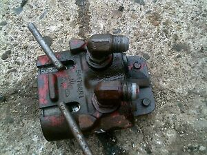 Farmall 1066 966 1086 Tractor Ihc Ih R Hydraulic Outlet Remote Coupler Box