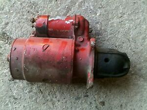 Farmall 504 Utility Utility Tractor Original Ih Ihc Good Working 12v Starter