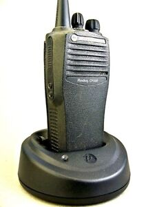 Mint Motorola Cp200 Vhf 4ch Radio W accessories