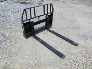 Ansung 48 Forks For Skid Steer Loaders 4000 Lb Capacity Ssl Quick Attach
