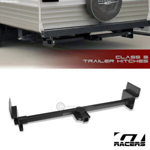 Class 3 Matte Blk Receiver Tow 2 Adjustable Rv Trailer Hitch Fit Up 72 Frame