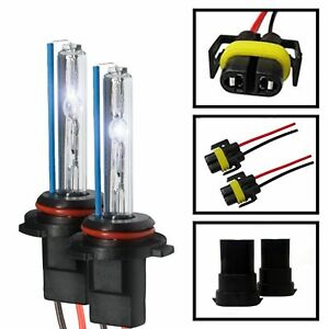 Two 35w 55w Xenon Hid Kit S Replacement Light Bulbs H1 H3 H7 H10 H11 9005 9006
