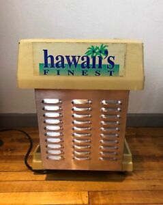 Hawaii s Finest Model 1027 Commercial Hawaiian Shaved Ice Machine Snow Cones