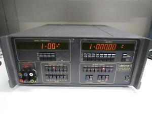 Datron 4000a Dc Calibrator W Opt 20 ohms Dci 30 ac Current 90 rack