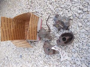 Wisconsin Engine Motor Carburetor Parts Marvel Schebler Zenith Tractor Truck Car