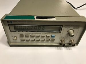 Hp Agilent 5384a Rf Frequency Counter 5384 Tested Works Great