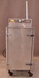 Southern Pride Stainless Steel Sc 200 sm Smoke Chef Electric Smoker 200lb
