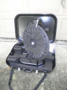 20 5 Tabletop 12 slot Mini Prize Wheel With Case For Trade Show Raffles School