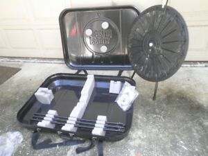 31 Tabletop Or Floor Standing 18 slot Trade Show Raffle Prize Wheel With Case