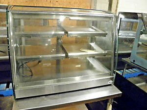 Saden Vendo Hfd000004 35 Counter Top Heated Hot Food Holding Pizza Display Case