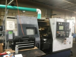 Used Mori Seiki Zl 250smc Cnc Lathe 2001 Twin Turrets Twin Spindles Live Tooling