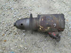 Farmall A B C Bn Tractor 6v Starter Works Good