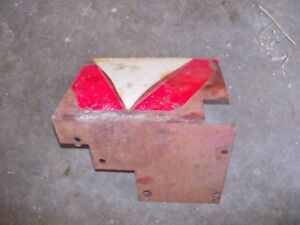 Farmall 806 Ih Tractor Hydraulic Cover Panel