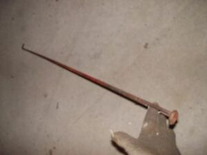Farmall H M Early Sh Sm Tractor Ih Hydraulic Belly Pump Control Linkage Rod