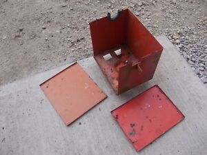 Allis Chalmers C Ca B Tractor Replacement Ac Battery Box Lid 3 Piece kk