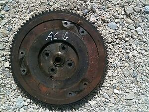 Allis Chalmers G Tractor Original Ac Engine Motor Flywheel Starter Ring Gear