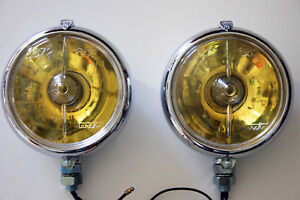 Two Porsche 356 912 911 Ferrari Marchal 672 682 Lights New
