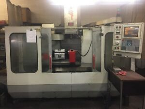 Used Cheap Haas Vf 3 Cnc Vertical Mill 1995 4th Axis Rotary Auger 4020