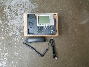Cisco Unified 7941 Series Voip Ip Business Office Phone With Handset And Cord