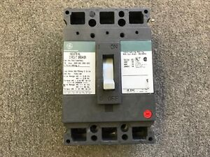 General Electric Ge Circuit Breaker 70 Amp 480v 3 Pole Ted134070wl