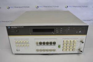 Hp Modulation Analyzer 8901a