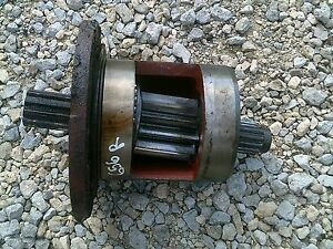 Farmall 656 Rowcrop Tractor Right Inner Brake Houseing W Drive Gear
