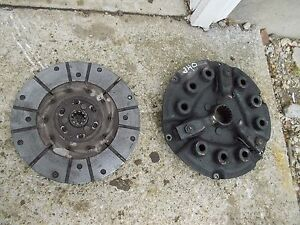 Farmall 340 Ih Tractor Engine Motor Clutch Pressure Plate Assembly