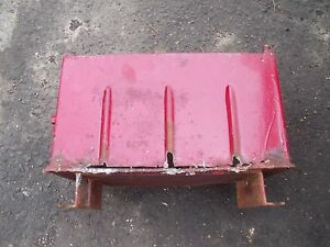 Farmall Ih 460 Utility Tractor Ihc Ih Battery Box For Behind The Seat