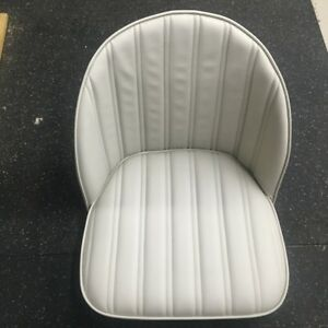 Hotrod Rat Rod Pair Bucket Bomber Seats 32 33 34 T A Ford Car Boat Mg Off White