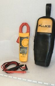 Fluke 902 True Rms Clamp Meter Hvac Nice Case With Fluke Leads