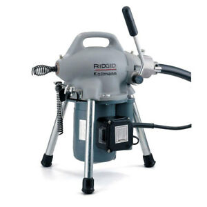 Ridgid 58920 K 50 Sectional Drain Cleaning Machine