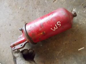 Farmall Ih Lsm Sm Super M Mta Tractor Engine Motor Oil Filter Canister Holder