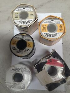 Solder Kester 285 245 And Others Mixed Qty5
