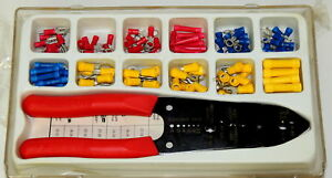 Burndy Electrical Repair Kit Wire Crimper Y10me 4 W 12 Terminal Sizes New Os