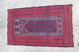 Handmade Vintage Afghan Tribal Best Rug Prayer Rugs 3 X5