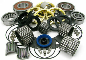 Fits Jeep Ax15 Ax 15 5 Spd Transmission Deluxe Rebuild Kit W Needle Bearings