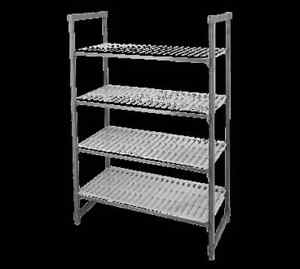 Cambro Esu185472v4580 Elements Starter Shelving Unit 18 X 54 X 72