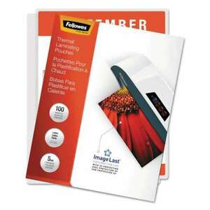 Fellowes Imagelast Laminating Pouches With Uv Protection 5mil 077511520402
