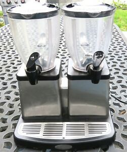 Villaware V5787 Stainless Dual Station Double Blender Smoothie Bar 1400 Watts