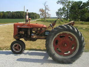 1955 Farmall 200 Tractor Runs Good Fast Htich Pto 2pt Hitch