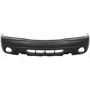 Bumper Cover For 2002 2003 Suzuki Xl 7 Front Textured With Side Marker Holes