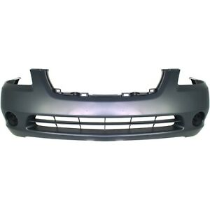 Bumper Cover For 2002 2003 2004 Nissan Altima S Se Sl Model Front 620228j040