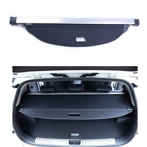For Kia Sportage 2017 2018 Rear Trunk Parcel Security Shield Cargo Luggage Cover
