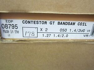 Lenox Contestor Gt 178 X 2 X 050 X 1 4 2 Tpi Vp Vr Band Saw Blade Coil